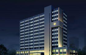 环保大楼亮化设计