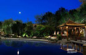 淄博公园亮化设计