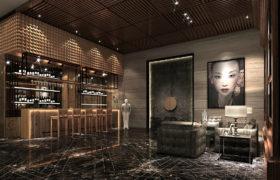 山东金浩集团展厅灯光设计