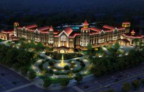 乌鲁木齐得仁山大酒店亮化设计-三迪照明设计